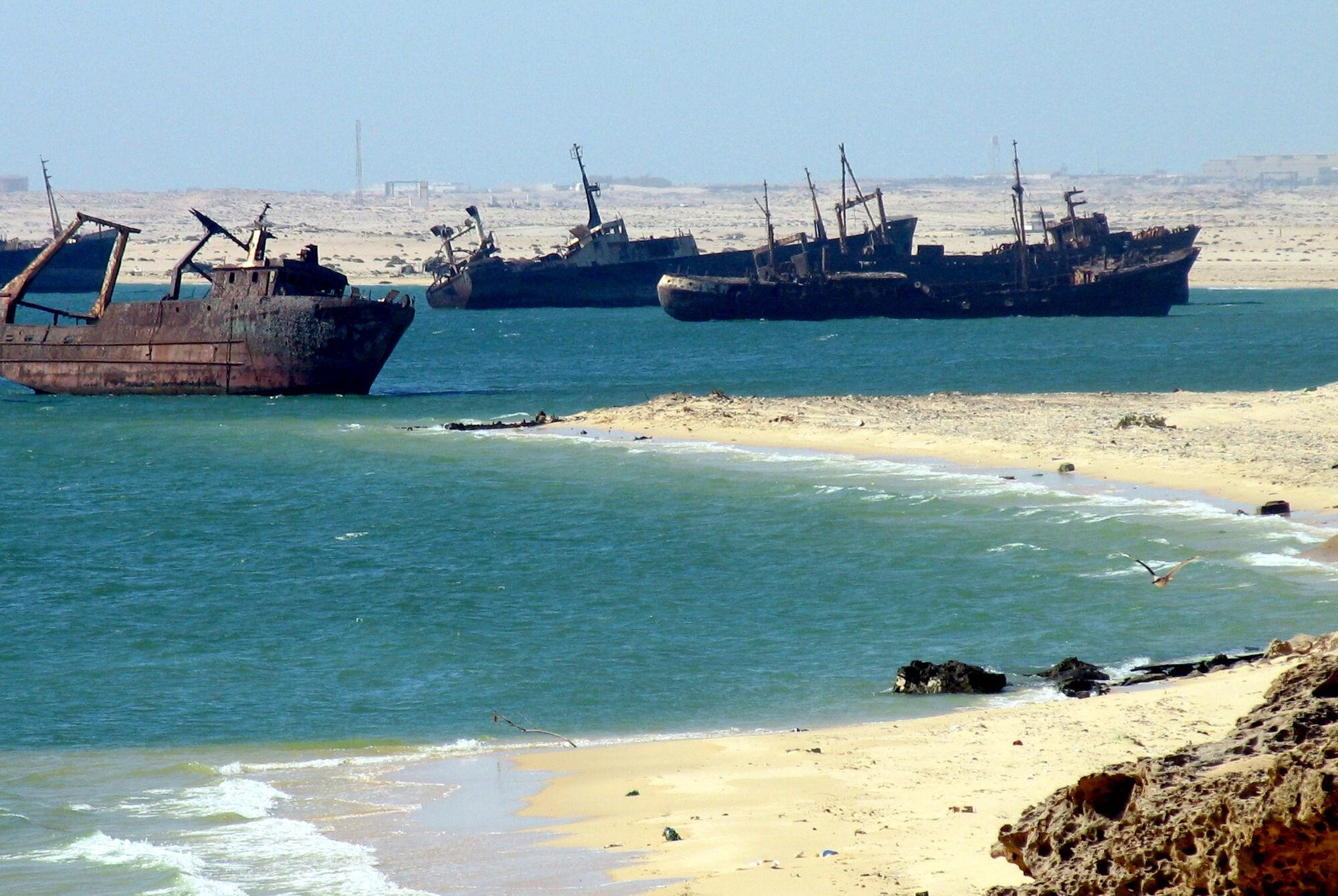 Relitti a Nouadhibou